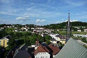Berg bei Rohrbach - Image: Rohrbach nach N
