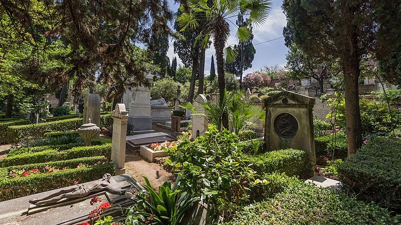 File:Roma Acattolico di roma Cemetery01.jpg