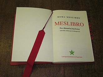 Roman Missal - Roman Missal in Esperanto (1995)