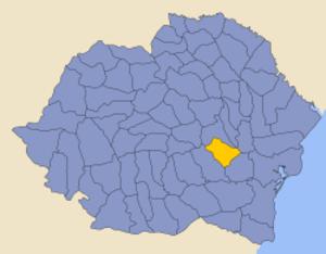 Râmnicu Sărat County - Image: Romania 1930 county Ramnicu Sarat