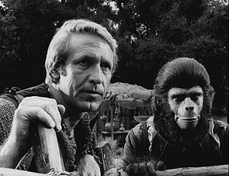 Planet of the Apes (TV series) - Ron Harper and Roddy McDowell