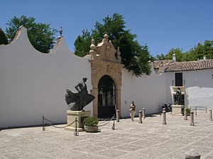 Plaza de Toros de Ronda - The entrance to the bullring