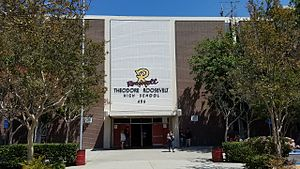 Theodore Roosevelt High School (Los Angeles) - Roosevelt High School.