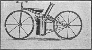 Twistgrip - The Roper steam velocipede of 1867-69.