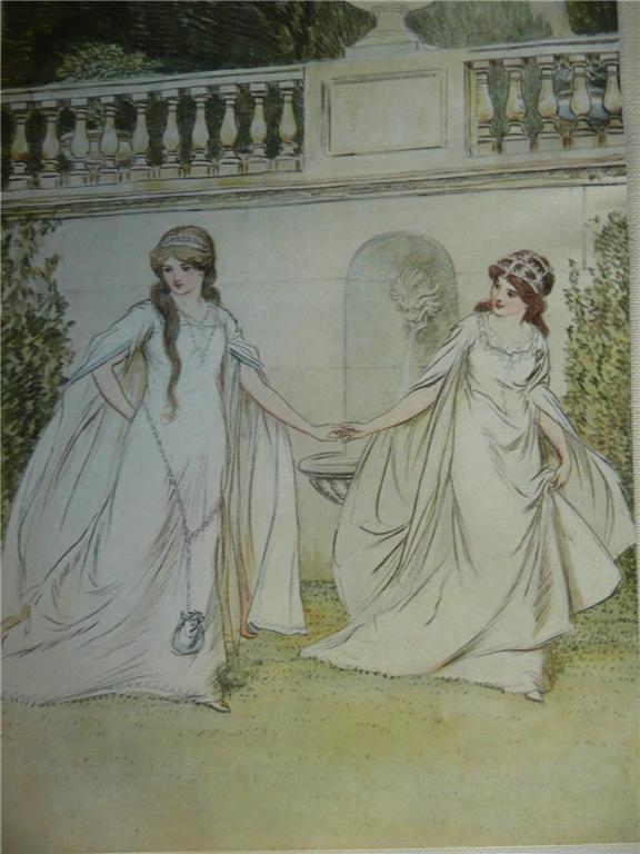 Rosalind and Celia by Hugh Thomson 1909