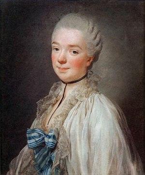 Béatrix de Choiseul-Stainville - Portrait de la duchesse de Grammont, by Alexander Roslin, c. 1774