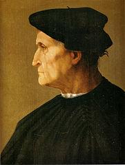 Portrait d'homme en noir