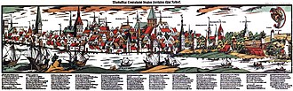 Rostock - Rostock in the 16th century