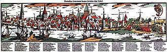 Rostock - Rostock in the 16th century