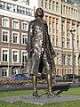 Rotterdam, standbeeld L Baranov bij de Veerhaven foto3 2011-01-09 14.14.JPG