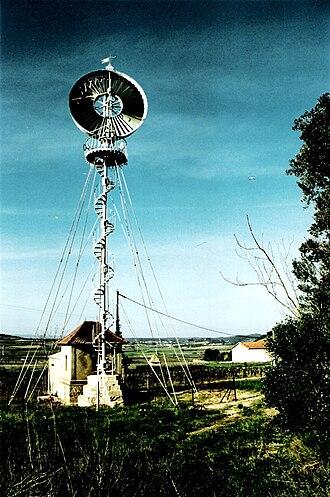 Éolienne Bollée - An Éolienne Bollée