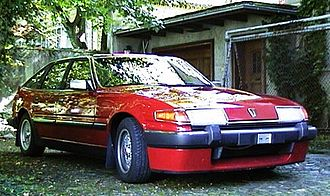 Rover (marque) - 1985 Rover Vitesse (SD1) (post-facelift).