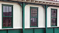 Row of three-over-three double-hung sash windows at Poughkeepsie, NY, train station.jpg