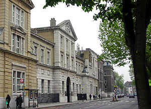 Royal Free Hospital - Former site in Gray's Inn Road, subsequently the Eastman Dental Hospital.