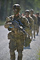 Royal Danish soldiers conduct an infantry training exercise at the 7th Army Joint Multinational Training Command's Grafenwoehr Training Area, Germany, July 3, 2014 140703-A-HE359-160.jpg
