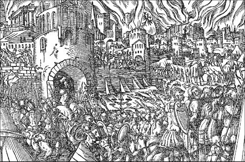 Rrethimi i pare I krujes 1449-50