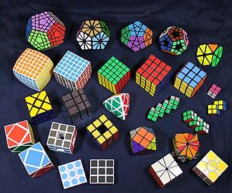 Combination puzzle - A combination puzzle collection