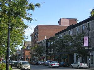 Little Burgundy - Notre-Dame Street West