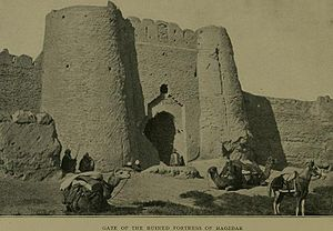 Sistan - The gates of Haozdar, in Sistan