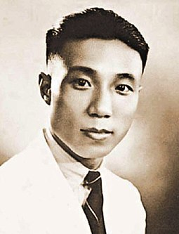 Sir Run Run Shaw (Shao Yifu), the youngest Shaw brother who expanded the business in Singapore and Hong Kong Run Run Shaw youth.jpg