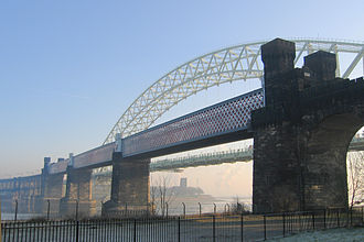 Runcorn Railway Bridge - Runcorn Railway Bridge