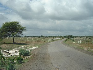 Vikarabad - Rural Road near Vikarabad.jpg