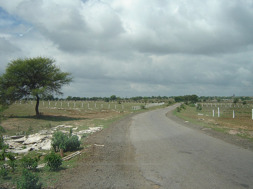 Rural Road near Vikarabad