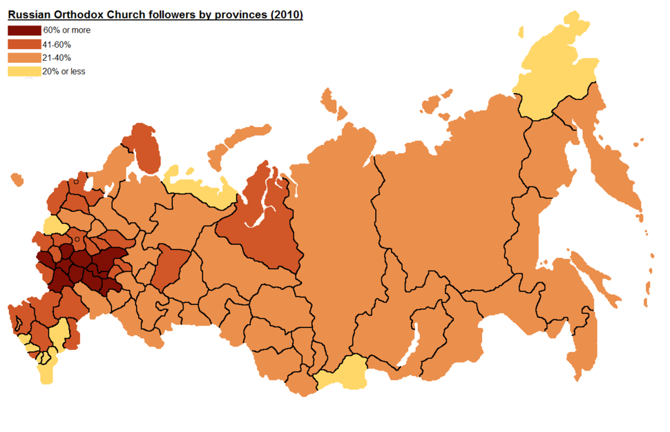 Russian Orthodox Church followers