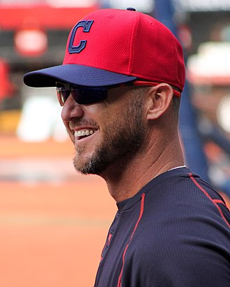 Ryan Raburn - Raburn with the Cleveland Indians in 2015