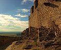 Sümeg castle outer wall.JPG