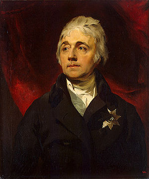 Semyon Vorontsov - Portrait by Sir Thomas Lawrence, 1806.