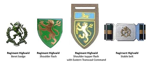 SADF Regiment Highveld insignia