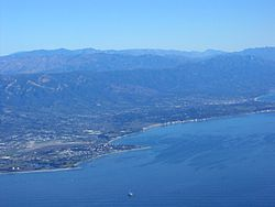 South Coast of Santa Barbara County
