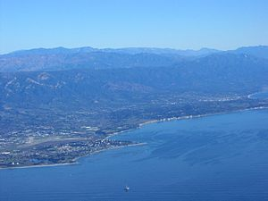 Central Coast (California) - South Coast of Santa Barbara County