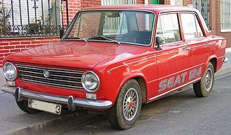 Fiat 124 - SEAT 124, manufactured circa 1970
