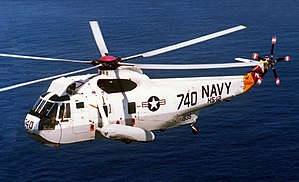 Sikorsky SH-3 Sea King - A US Navy SH-3H Sea King helicopter