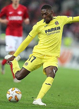Karl Toko Ekambi - Toko Ekambi with Villarreal in 2018