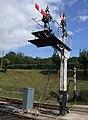 SR bracket signal at Horstead keynes Bluebell railway.jpg
