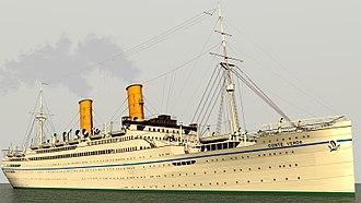 SS Conte Verde - Image: SS Conte Verde
