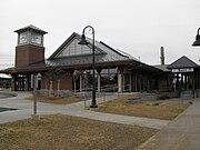 Saco Train Station 5.27.09