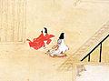 Saigyo Monogatari Emaki - Tsunetaka - Detail of childs.jpg