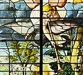 Saint-Chapelle de Vincennes - Baie 1 - L'obscurcissement des astres, détail de l'ange et de l'aigle (bgw17 0749).jpg