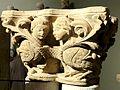 Saint-Denis (93), abbaye Saint-Denis, chapiteau envoyé au musée de Cluny 2.jpg