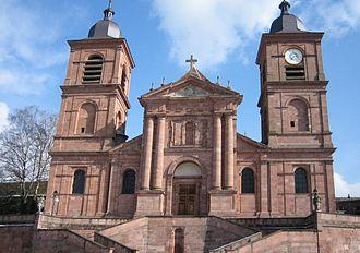 Roman Catholic Diocese of Saint-Dié - Saint-Dié Cathedral