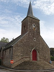 The church in Saint-Gorgon