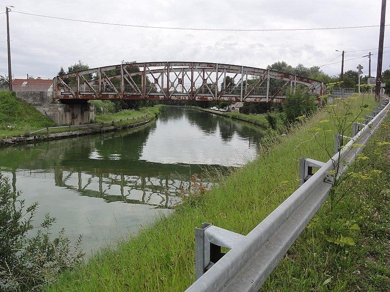 Saint-Simon (Aisne) pont du Canal de Saint-Quentin