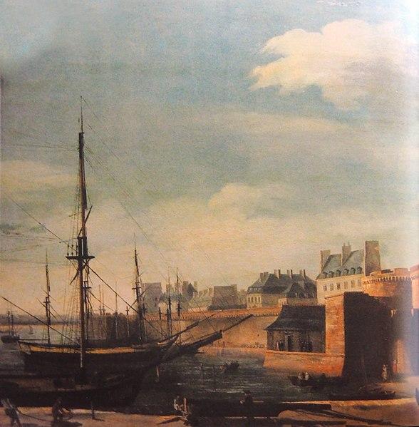 Saint Malo circa 1810
