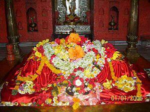 Sajjangad - Samadhi of Samarth Ramdas at Sajjangad.