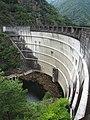 Sakamoto Dam (Kamikitayama, Nara) left view.jpg