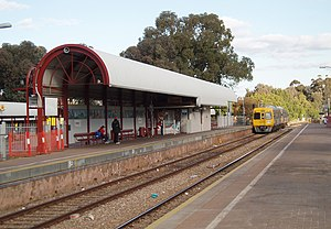 Gawler railway line - Salisbury Interchange, one of the 3 busiest stations on the entire network